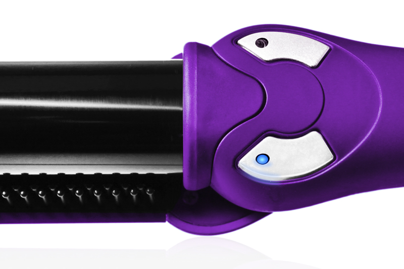 Purple Instyler Rotating iron